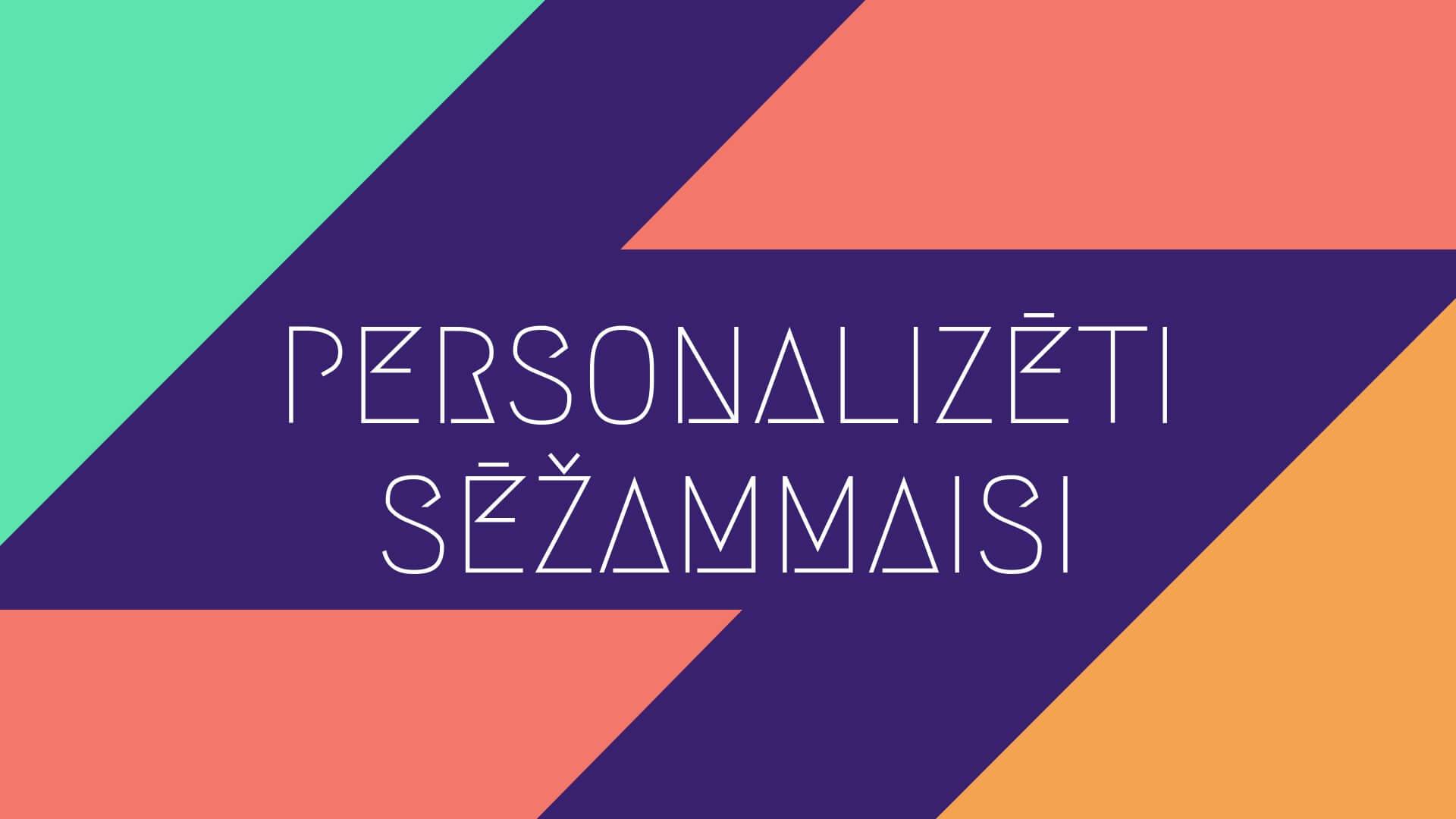 Personalizeti sezammaisi