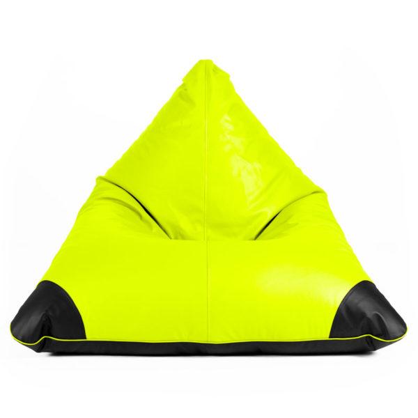 Pufs SURF SMART zaļā ādā