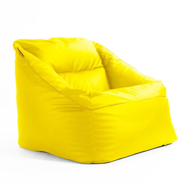 Sēžammaiss DUVI SMART - Dzeltens - labais sānskats